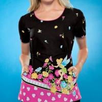 womens-cherokee-tinkerbell-print-top